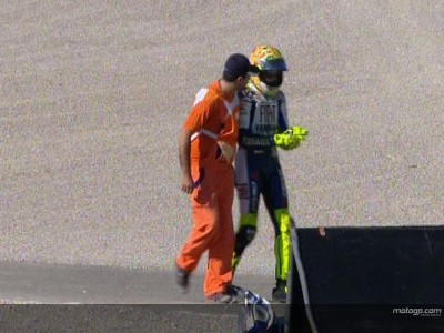 Injured Rossi to decide on participation on Sunday