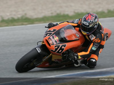 Factos da corrida de 250cc em Valência