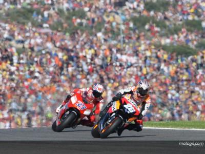 La parola al podio della MotoGP