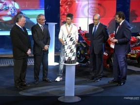 Weltmeister mit FIM MotoGP Award geehrt