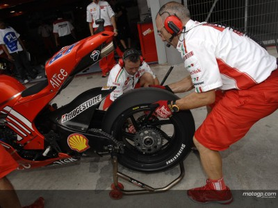 Tres días de test alargan la estancia del MotoGP en Valencia