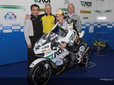 Dovizioso e il Team Scot con il Team MotoGP JiR