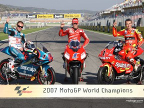 Les Champions 2007 récompensés à Valence
