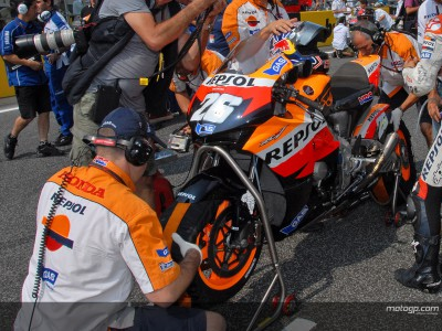 Repsol Honda and Michelin together again for 2008