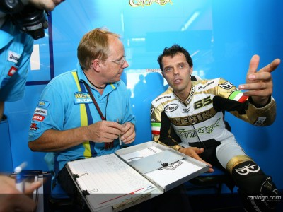 Capirossi pleased with Suzuki debut