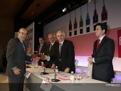 motogp.com recibe el Premio a la Innovación en la Feria SIMO 2007 de Madrid
