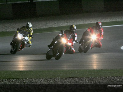 Night riders ready for action in Qatar