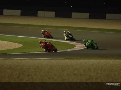 MotoGP set for first night time GP after successful test