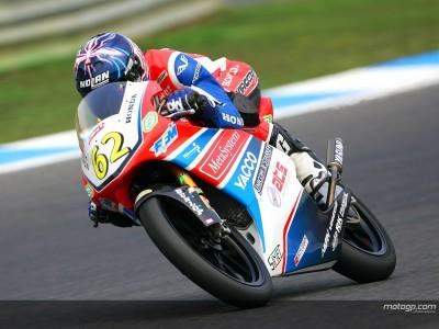 Rossi représentant du team FFM Honda GP 125 en 2008