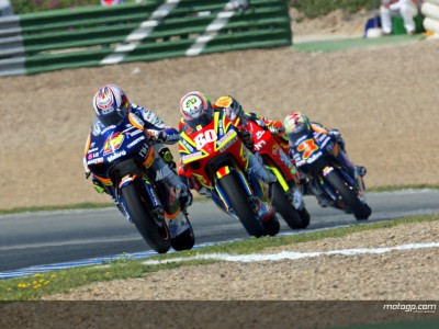 250er und 125er Teams testen in Jerez