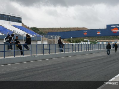 Jerez day two non-starter for 250cc & 125cc majority