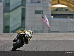 Denning lobt  Capirossi nach abwechslungsreichen Test mit Suzuki