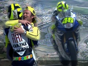 Rossi ends the drought