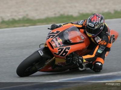 Kallio entusiasmado tras el buen rendimiento de las KTM en Jerez