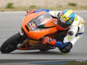 Pablo Nieto prepara-se para correr com a KTM em 2008