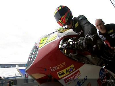 Pesek taking things step-by-step in 250cc