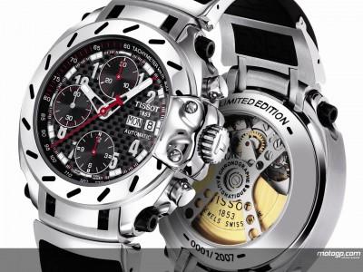 Tissot presenta una edición especial de relojes MotoGP