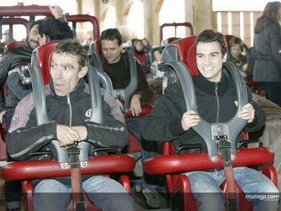 Pedrosa makes theme park appearance