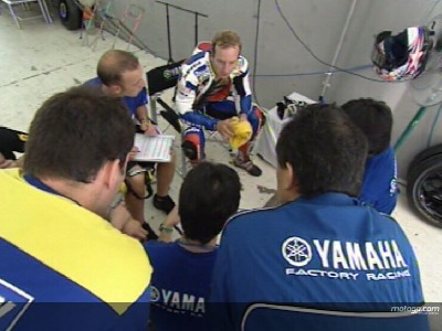 Edwards continues Yamaha rebuild in Spain