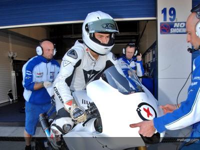 Pedrosa guida la classifica, mentre Stoner si infortuna durante i test di Jerez