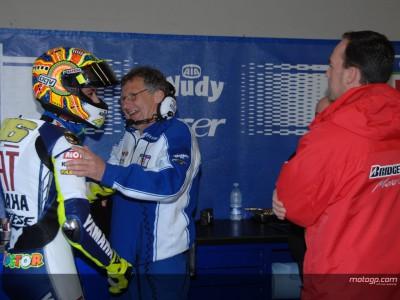 Satisfacción de Rossi tras su primera experiencia con Bridgestone