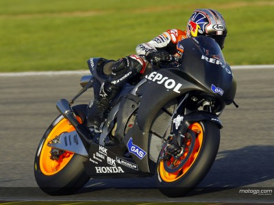 Jerez test concludes with Pedrosa and Hayden on top