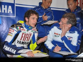 Early ending to Jerez test for Rossi