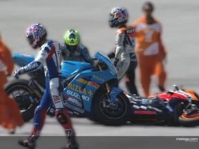 MotoGP's Turkish tumble