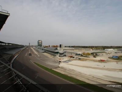 Le chantier d'Indianapolis progresse à bon rythme