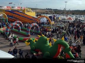 12.000 aficionados en la fiesta del Circuit de Valencia