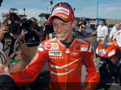 Casey Stoner: The man to beat in 2008