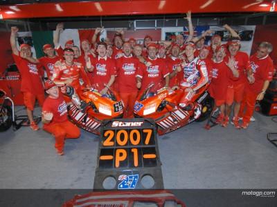 La gloriosa stagione 2007 della Ducati