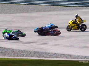 転倒レポート~MotoGPクラス