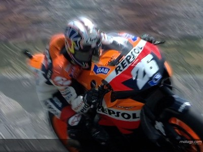 Pedrosa falls short at home