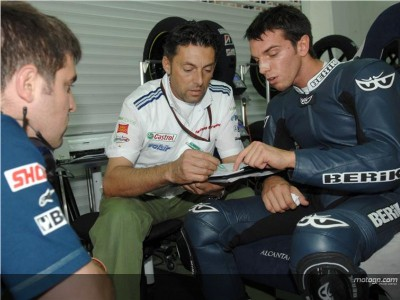 De Angelis preparado para assalto ao MotoGP