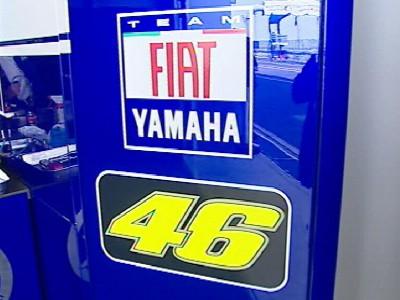 Yamaha presenta la M1 2008 ufficiale a Torino