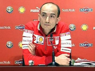 Domenicali señala a Honda como el gran rival de Ducati en 2008