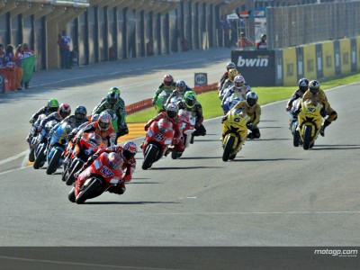 Youthful feel to 2008 MotoGP grid