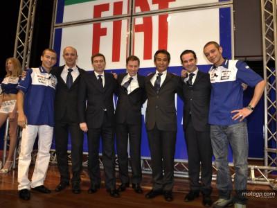 Yamaha present Rossi, Lorenzo and 2008 M1 in Turin