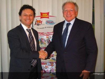 Gresini verkündet San Carlo Sponsoring Deal
