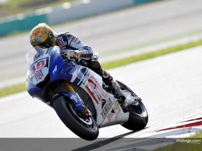 Lorenzo's difficult day in the Malaysian heat