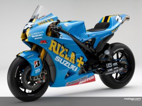 Rizla Suzuki officially unveil 2008 GSV-R