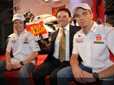 Desvelados en Milán los nuevos colores del San Carlo Honda Gresini Team