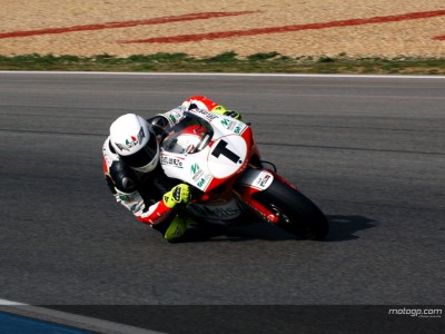 Simoncelli gets to work at Portuguese test