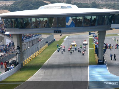 First competitive MotoGP action takes place at Official Test in Jerez