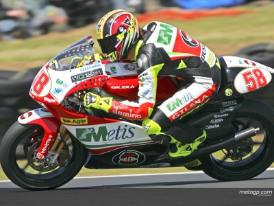 Simoncelli lowers time on final day in Estoril