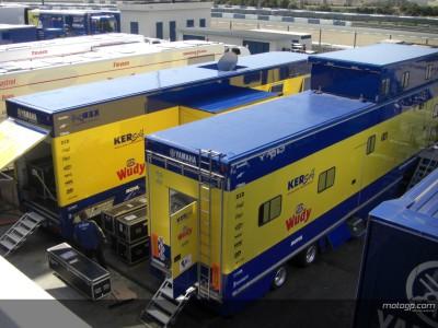 Los equipos llegan a Jerez para el Test Oficial de MotoGP