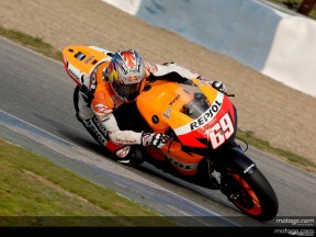 Hayden opens MotoGP Official Test with early Jerez marker