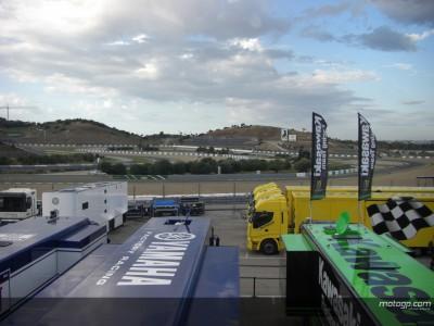 Más lluvia y temperaturas frías en el inicio  de la tercera sesión en Jerez