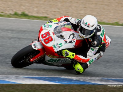 Day two at Jerez ends with Simoncelli in front